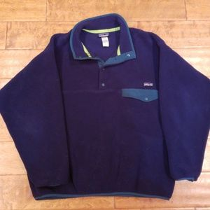 Patagonia Synchilla Fleece Snap T Mens Large